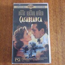 VHS Tape Casablanca 2001