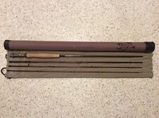 G Loomis Eastfork 9' 6 Weight 4 Piece With Sock And Tube Excellent Condition