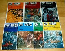 Avatar Comics NO HERO #0-6 NM/NM+ 9.4-9.6