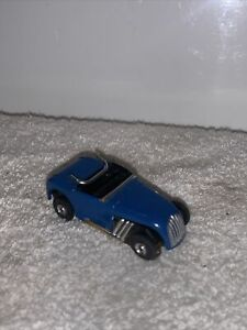 Vintage 1960s Aurora Thunderjet White Hot Rod Roadster No. 1365 Slot Car