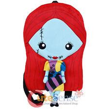 "Nightmare Before Christmas Sally Plush Doll Backpack 18"" Flat Plush NBC Bag"