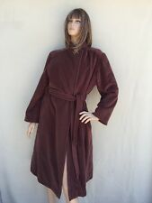 Lorendale By Bromleigh Woman's Vintage Wool Trench Coat Brown Size M-L Pristine