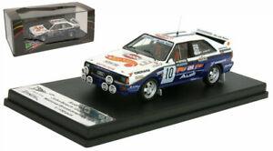 Trofeu RRUK18 Audi Quattro A2 National Breakdown Rally 1987 - John Bosch 1/43