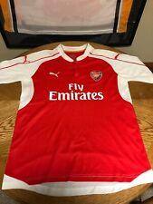 FC ARSENAL LONDON 2015 2016 HOME FOOTBALL SHIRT SOCCER JERSEY PUMA(L) Large Polo