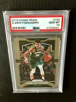 2019 Panini Prizm Giannis Antetokounmpo #152 PSA 10 Milwaukee Bucks Greek Freak