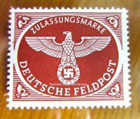 EBS Germany 1942 Military Post Stamp for Air Parcels perforated Michel 2A MNH**