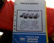 Volvo BM Michigan Euclid AH 45, 31, 50, 62 Axle L series Loader Workshop manual