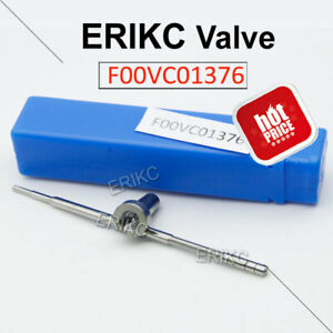 ERIKC F 00V C01 376 Common Rail Fuel Injector Valve F00VC01376 for Bosch RENAULT