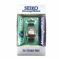 DEADSTOCK 90's New Old Stock Seiko Message Early Smart Watch COMPLETE SYSTEM