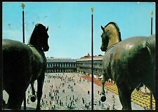 AD0143 Venezia - Città - Piazza San Marco e cavalli della Basilica di S. Marco