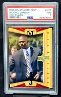 1999 Athlete of the Century Bulls MICHAEL JORDAN Card PSA 7 NM - Total Pop 17