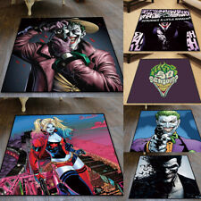 DC Joker Square Carpet Floor Mat Home Decorate Area Chair Rugs Multi-function
