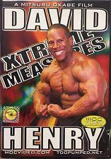 David Henry Xtreme Measures 202 IFBB Champion! 212 Mr Olympia Contendor vs FLEX