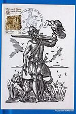 Nature and hunting france postcard maximum fdc yt c 2171