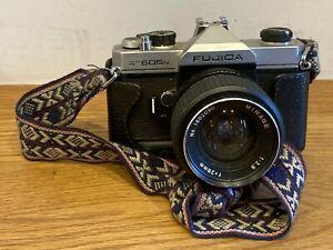 Fujica ST605n 35mm SLR Camera with Mirage 28mm Lens Ship Worldwide