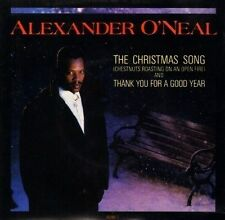 "ALEXANDER O'NEAL the christmas song chestnuts roasting on an open fire uk 7"" PS"
