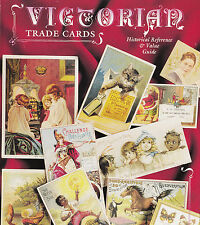 Book Used Victorian Trade Cards Historical Reference Value Guide by Dave Cheadle