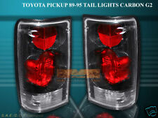 89-95 TOYOTA PICKUP TAIL LIGHTS CARBON G2 94 93 92 91