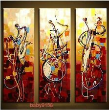 Beautiful abstract art play music decorative oil painting