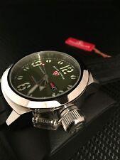 Swiss Legend Men's Submersible Green Dial,  Watch