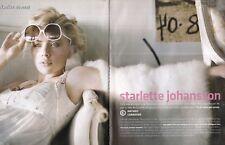 Coupure de presse Clipping 2005 Scarlett Johansson   (6 pages)