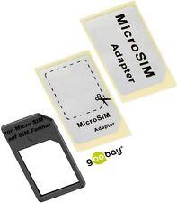 SIM-Kartenadapter mit verstärkten Rahmen von Micro SIM auf SIM Format v. goobay®