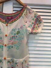 Ivko Sweater Dress Euc 36/6 Beautiful Colors! Intarsia