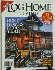 Log Home Living 2015 Best Homes of the Year 13 Dream Homes FREE SHIPPING sb