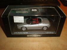 MINICHAMPS 1/43  Alfa Romeo Spider 2003   silver       MIB