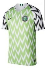"Nike 2018/2019 Nigeria Home Stadium Jersey Men Sz L ""893886 100"" NWT"