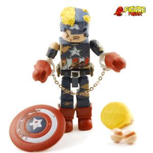 Marvel Minimates Civil War Captain America