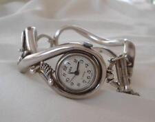 Vintage Zaria Russian Sterling Silver Watch 17 Jewels USSR Zarya Signed KLL