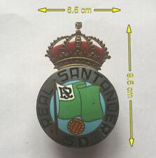 VINTAGE OLD SOCCER FOOTBALL SD REAL SANTANDER SPAIN LA LIGA PIN BADGE!!!