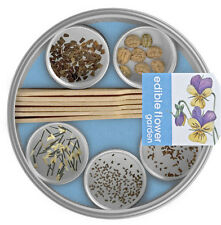 Potting Shed Creations Pocket Garden Edible Flowers Home Herbal Spice Steel Case