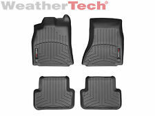 WeatherTech Floor Mats FloorLiner for Audi A4/Allroad/S4 - 1st & 2nd Row - Black