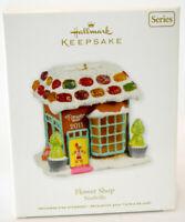 Hallmark: Flower Shop - Noelville - Series 6th - 2011 Keepsake Ornament