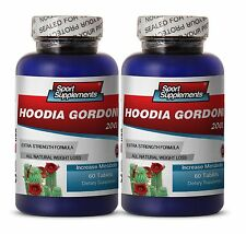 Natural Appetite Control - Hoodia Gordonii 2000mg  - Metabolism Increase 2B