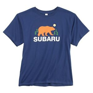 Subaru Official Youth Wild Outdoors ECO Tee T Shirt WRX Ascent Forester Outback