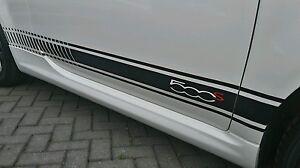 Fiat 500 S Stripes