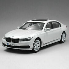1/18 Scale BMW 7 Series 750 Li 2017 White Diecast Car Model Toy Collection Gift