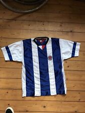 Vintage original Tommy Hilfiger camiseta Soccer Jersey m 90er hip-hop Navy Rare