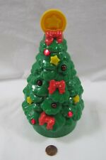 "8 Inch Fisher Price Little People CHRISTMAS TREE Music Plays ""O Christmas Tree"""