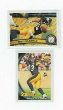 (LOT OF 2) TROY POLAMALU 2010 TOPPS #106 & 2011  TOPPS #85  (NM) STEELERS