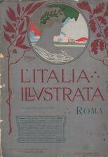 Italia illustrata: arte politica letteratura industria commercio gran mondo turi