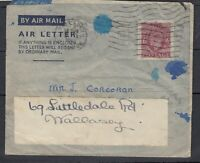 GB KGVI 1945 6d Air Letter To Wallasey Postal History J7754