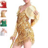 New Latin Salsa Cha Cha Tango Ballroom Dance Dress  4 colors available #LD03