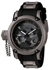 1202 Invicta 52mm Mens Russian Diver Swiss Camouflage Titanium Bezel Watch