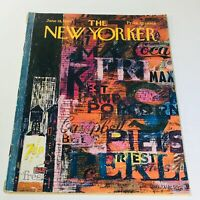 The New Yorker: June 18 1966 Full Magazine/Theme Cover Kenneth Mahood