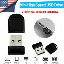 Usb3.0 Flash Drive Mini Thumb U Disk Memory Stick Pen For Pc Laptop 2Tb 512Gb Us