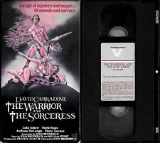 THE WARRIOR AND THE SORCERESS - 1984 David Carradine Sword & Sorcery, RARE VHS
